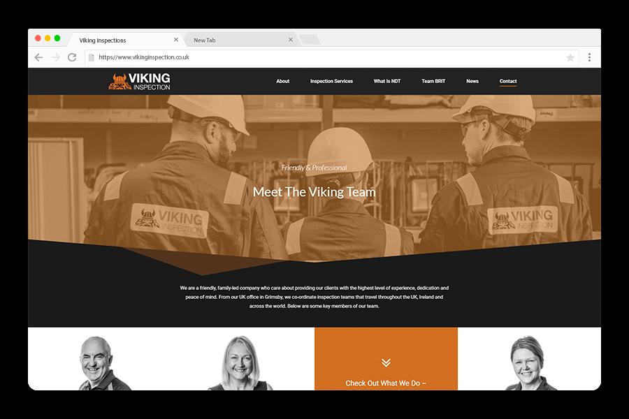 Viking-Meet-The-Team-Browser-Screenshot